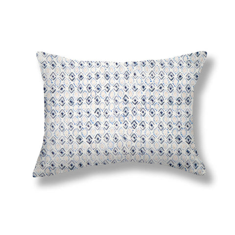 Gems Pillows in Blue / Gray