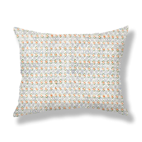 Gems Pillows in Multi Green