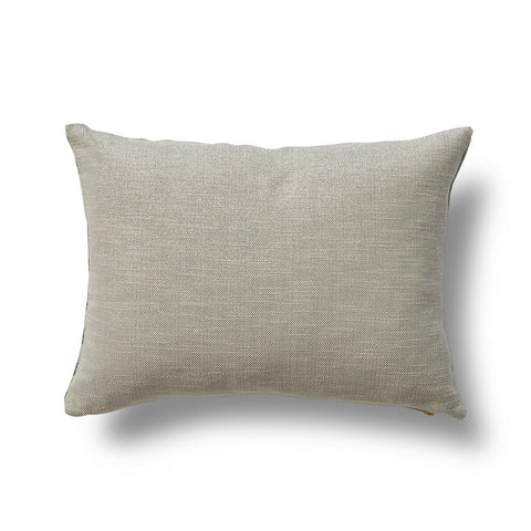 Gridded Ikat Pillow Cover in Dennis Green