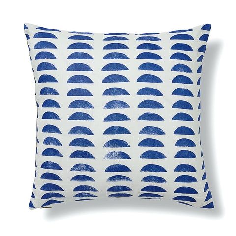 Hills Pillow Cover in Cobalt