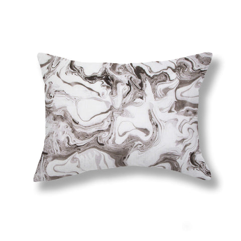 Marble Pillows in Smoke