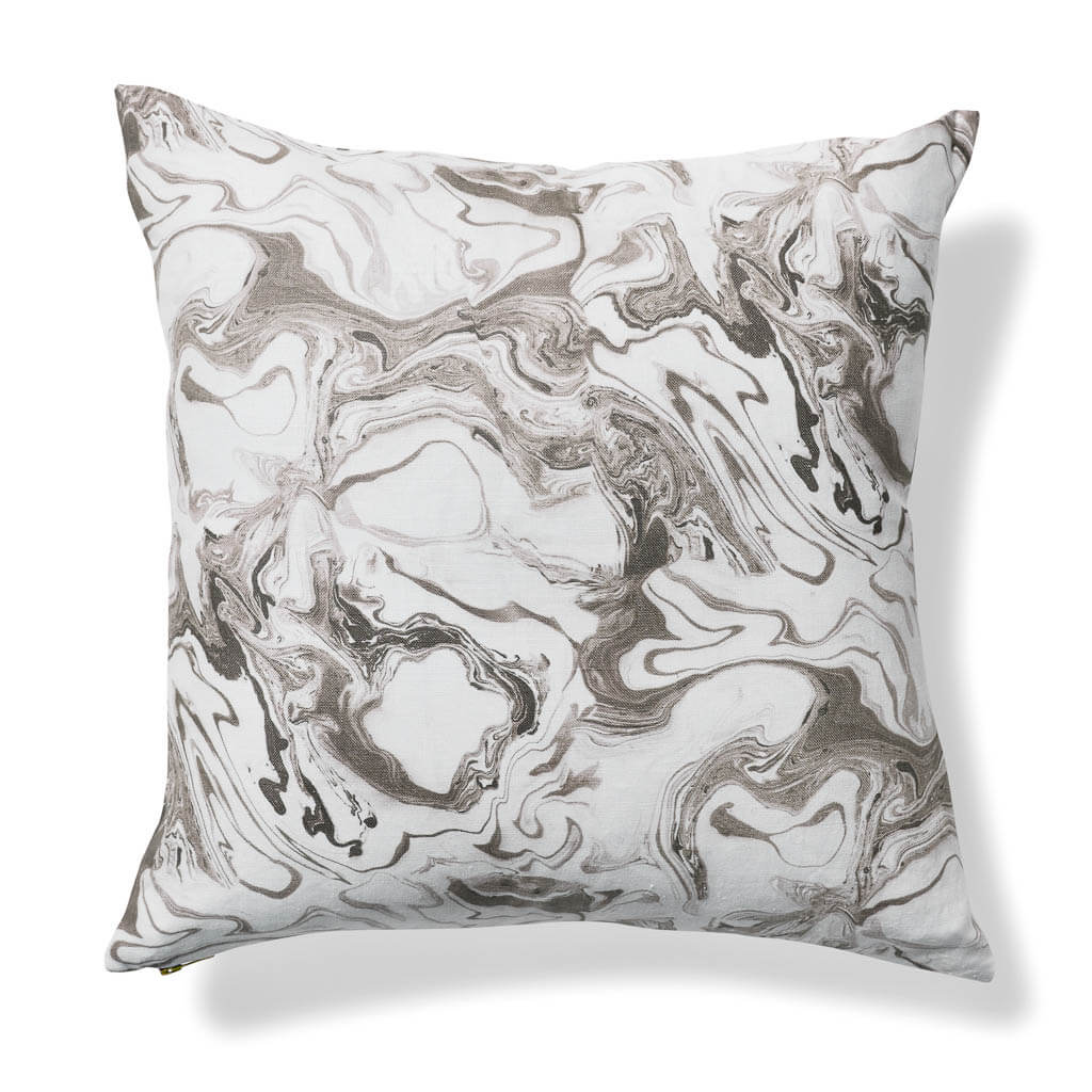 Marble Pillow in Smoke