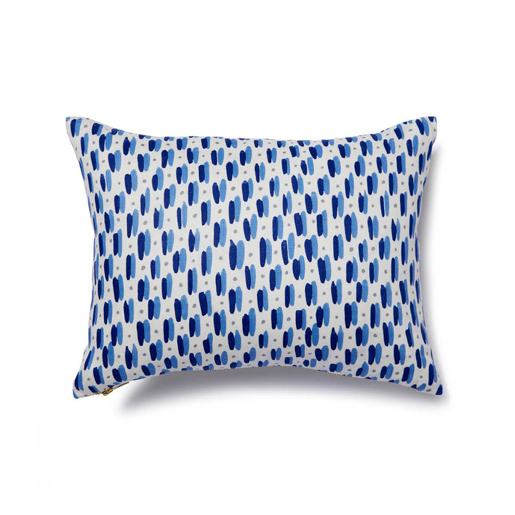 Marconi Pillow in Ocean Blue