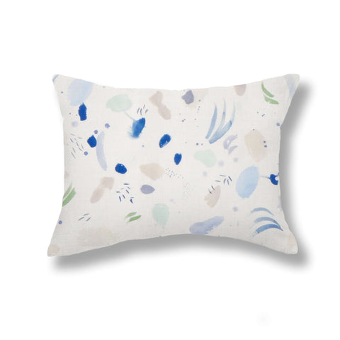 Meadow Pillows in Blue Morning
