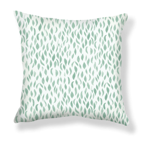 Petals Pillows in Sage
