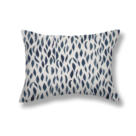 Petals Pillows in Navy