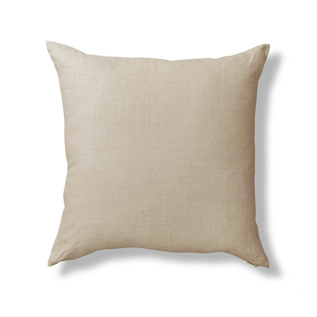 Petals Pillow in Gray