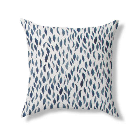 Petals Pillow in Navy