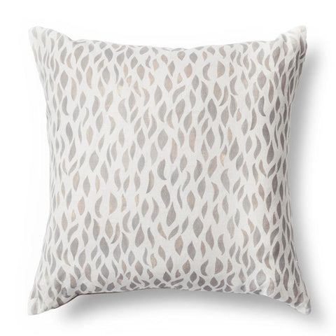 Petals Pillow in Taupe-Rose