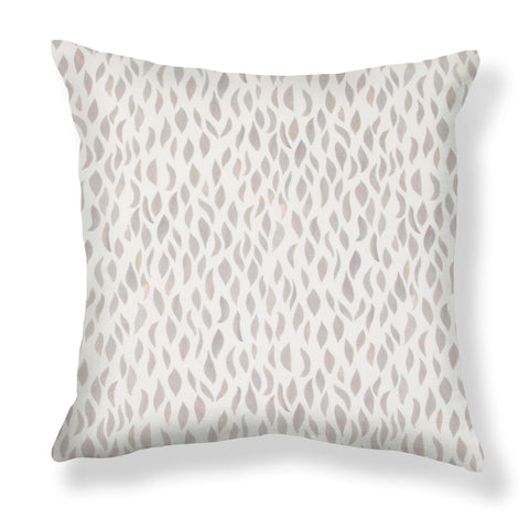 Petals Pillows in Taupe-Rose