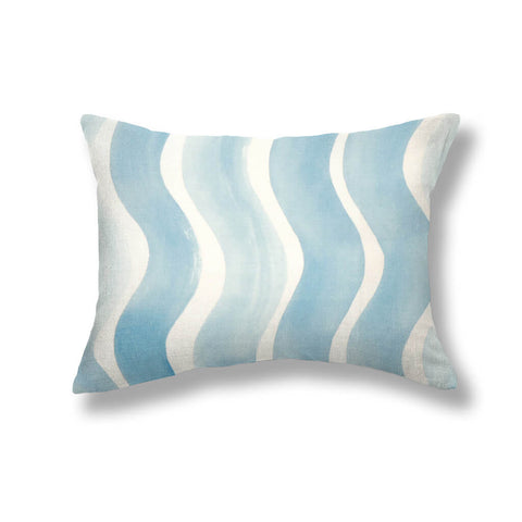River Pillows in Cerulean