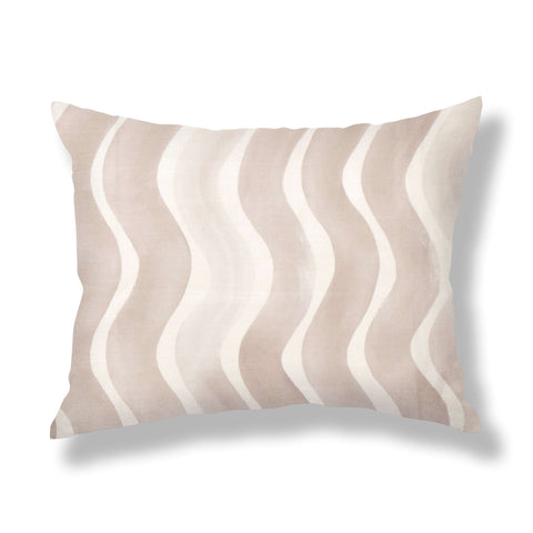 River Pillows in Taupe