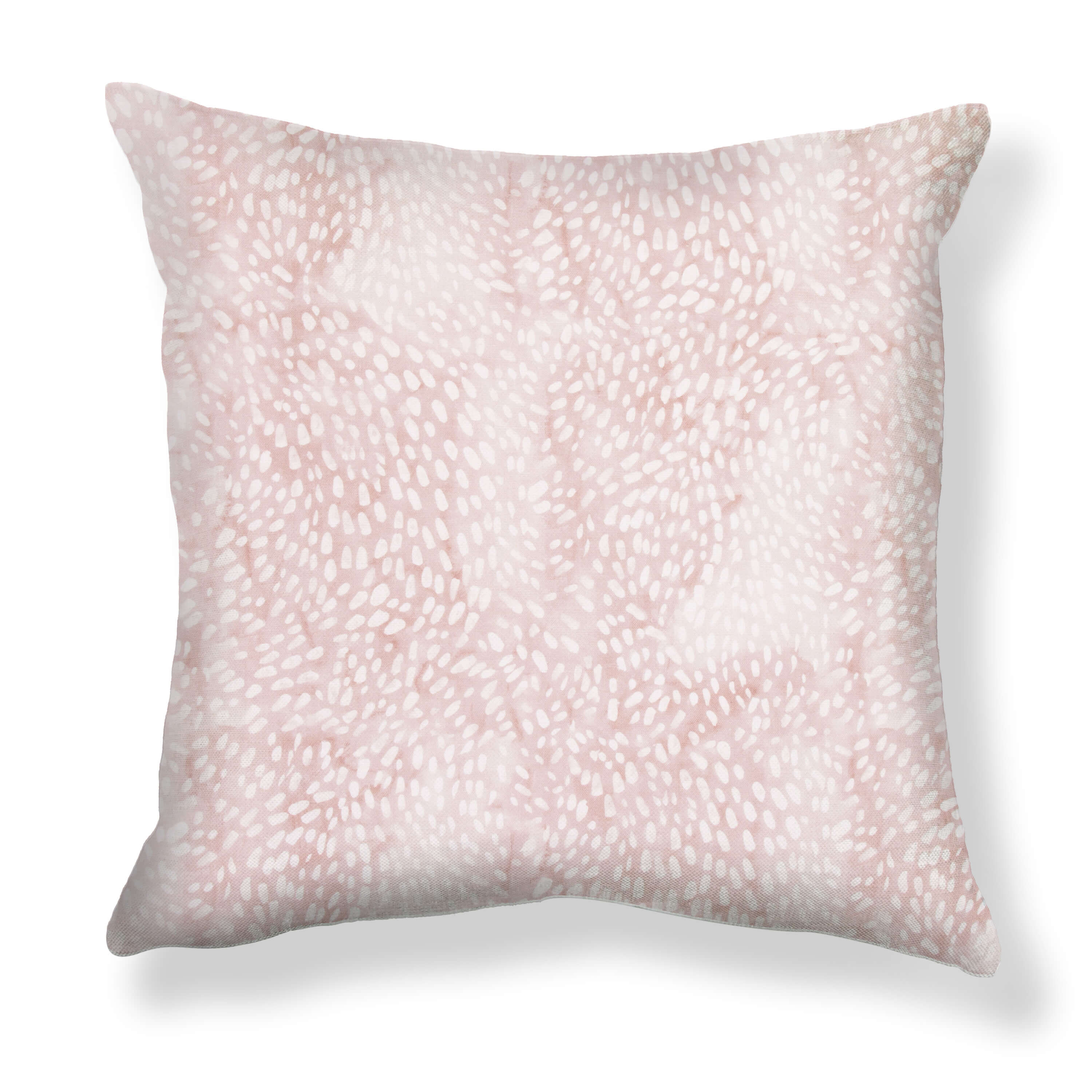 Speckled Pillows in Blush