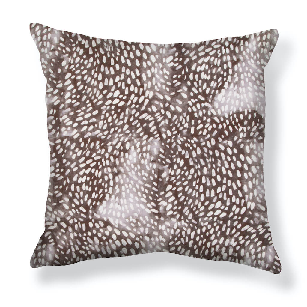 Speckled Pillows in Smoke
