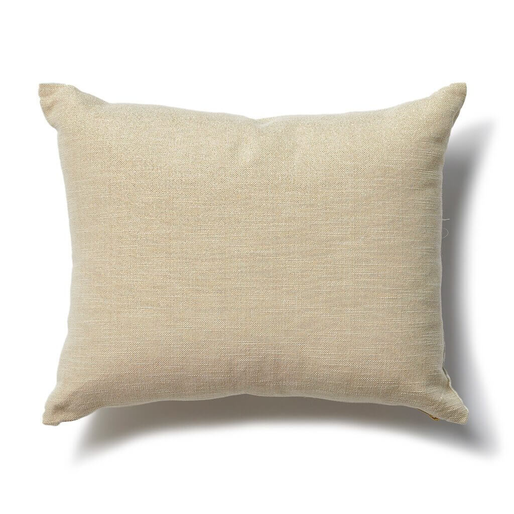Speckled Pillow in Taupe-Rose