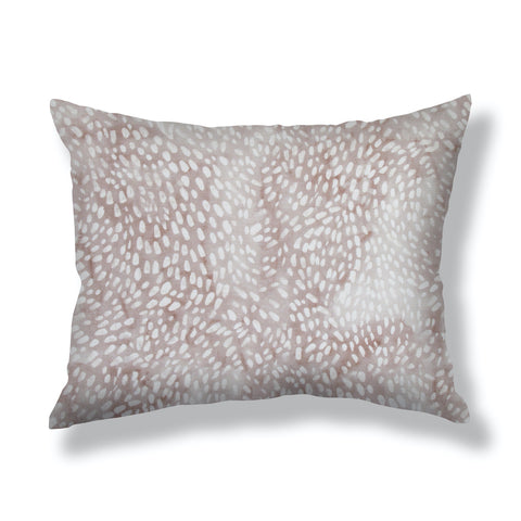 Speckled Pillows in Taupe / Fawn