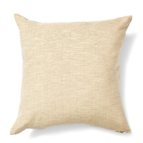 Striped Garden Pillow in Taupe