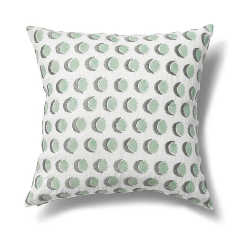 Sun and Moon Pillow Cover in Dennis Green
