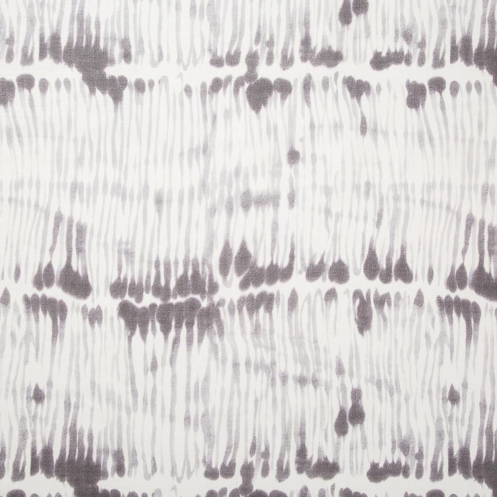 Swirled Stripe Fabric in Gray-Lilac