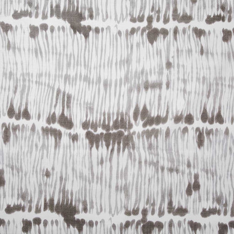 Swirled Stripe Fabric in Smoke