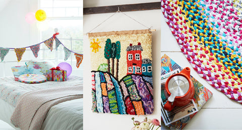 Projects from Rag Rugs, Pillows & More