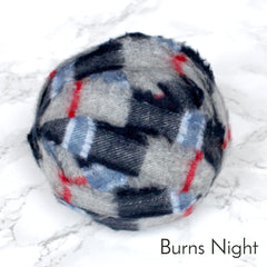 Ragged Life Rag Rug Blanket Yarn 100% Wool for Rag Rugging Crochet in Strips in Burns Night Grey and Blue