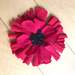 Ragged Life Rag Rug Poppy for Remembrance Day
