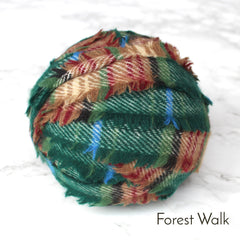 Ragged Life Rag Rug Blanket Yarn 100% Wool for Rag Rugging Crochet in Strips in Forest Walk