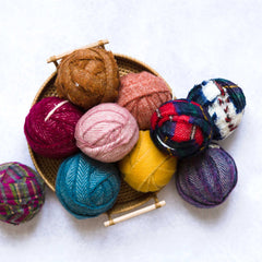 Ragged Life 100% Wool Blanket Yarn Lucky Dip Pack - 1kg