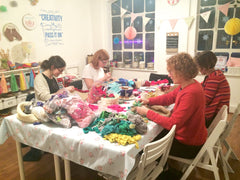 A Ragged Life Rag Rug Workshop at Tea & Crafting in Camden