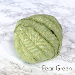 Ragged Life Rag Rug Blanket Yarn 100% Wool for Rag Rugging Crochet in Strips in Pear Green