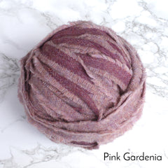 Ragged Life Rag Rug Blanket Yarn 100% Wool for Rag Rugging Crochet in Strips in Pink Purple