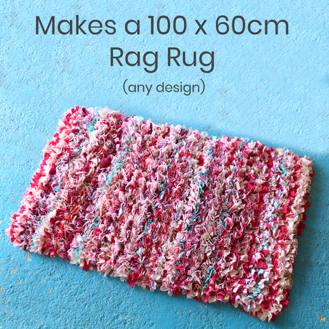 Ragged Life Ultimate Rag Rug Kit with All the Rag Rug Tools Including a Rag Rug Book and Spring Tool