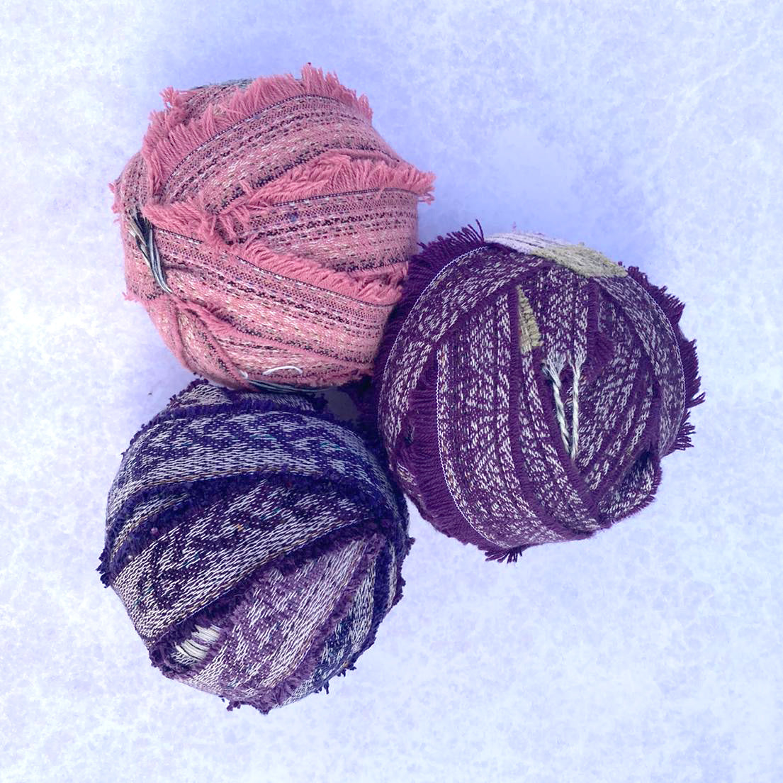 Chenille Yarn: 4 Balls - Introductory Offer