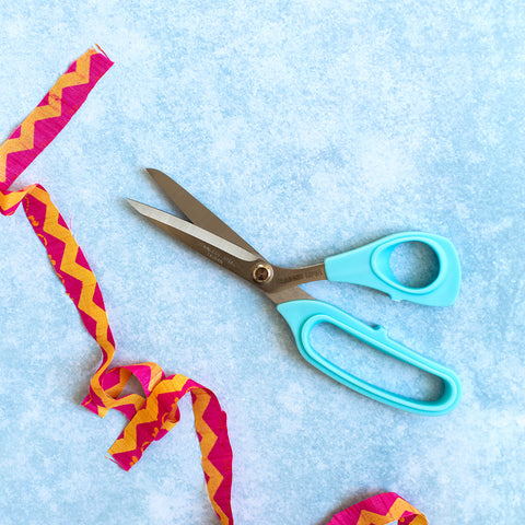 Ragged Life Rag Rug Scissors for cutting through multiple layers of fabric