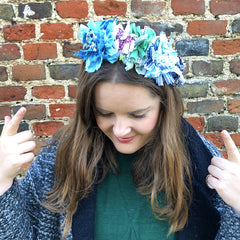 Ragged Life Rag Rug Headband Hessian Pack