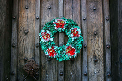 LIVE ONLINE CLASS - CHRISTMAS WREATH MAKING - Tools Included