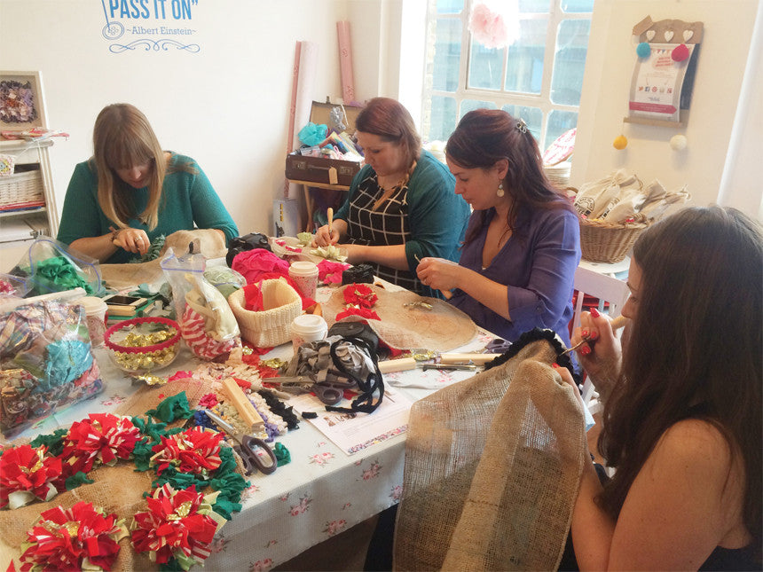 Our Half Day Rag Rug Workshop is perfect for beginners