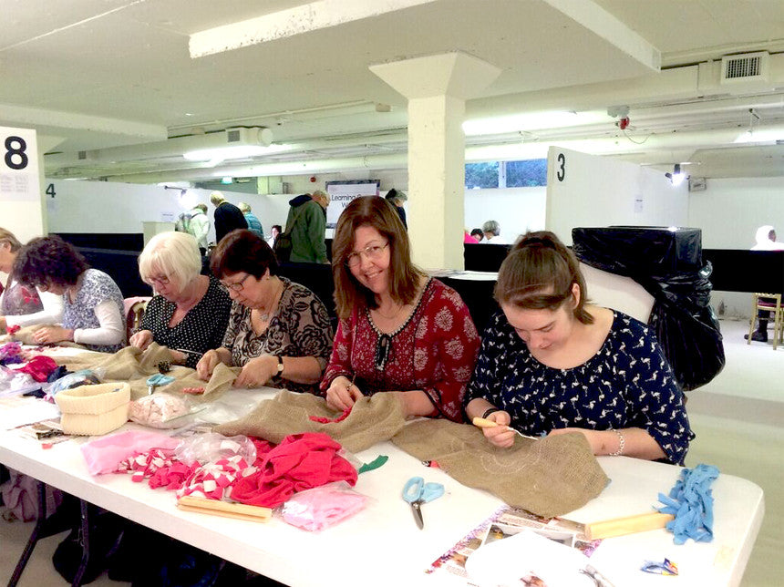 Teaching at the Knitting & Stitching Show in Harrogate