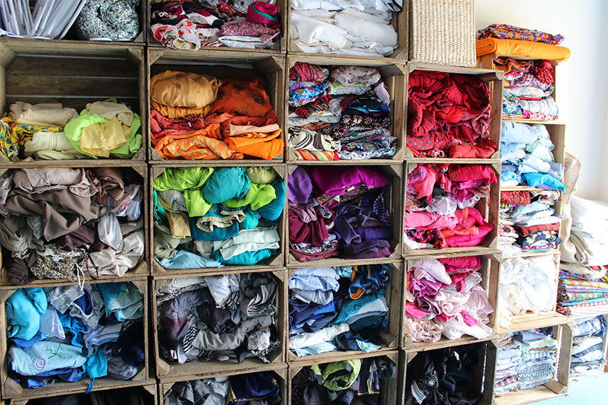 The Ragged Life fabric hoard