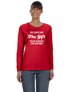 The Gift Baby Reveal Mommy Shirt - In The Limelight