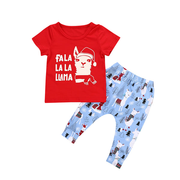 Fa La La Llama Christmas Outfit - In The Limelight