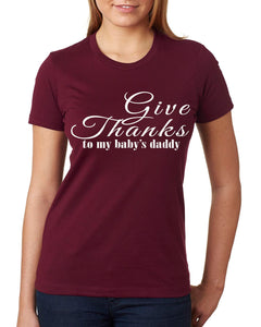 Give Thanks I'm Pregnant Mommy Shirt - In The Limelight