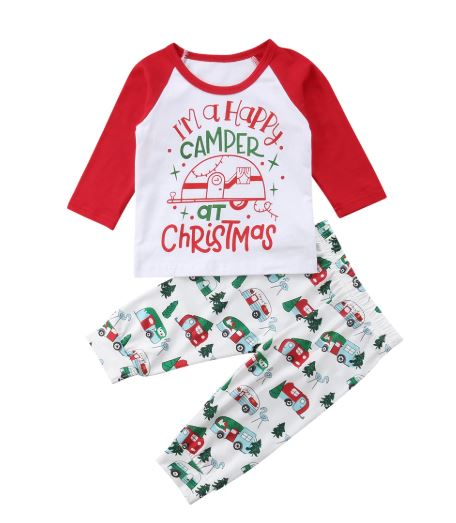 Happy Camper Christmas Outfit - In The Limelight