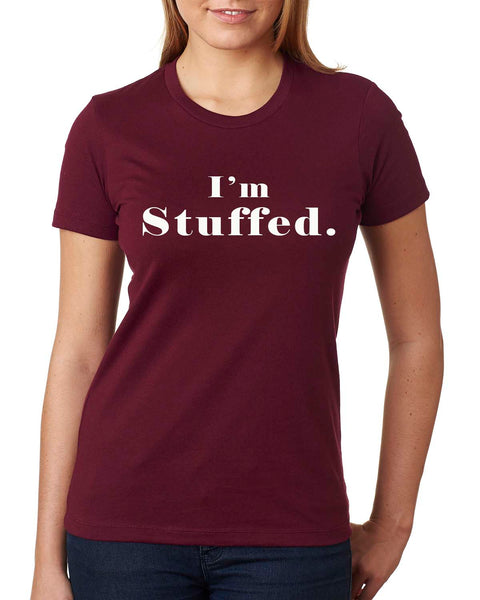 I'm Stuffed.  Mommy Shirt - In The Limelight