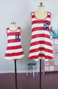 Mommy & Me Stars and Stripes Tank (Adult) - In The Limelight