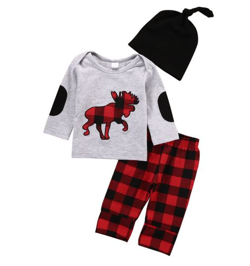 Moose Buffalo Plaid Outfit - In The Limelight