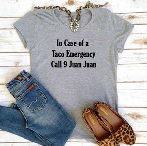 Taco Emergency Tee - In The Limelight