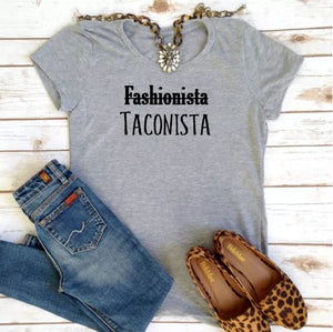 Taconista Tee - In The Limelight
