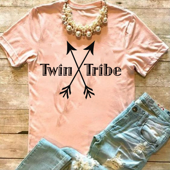 Twin Tribe Mom Shirt - In The Limelight